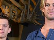 como Chris Hemsworth echó mano Holland papel Spider-Man