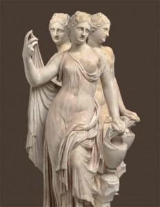 Estatuilla Venus, Museo del Louvre. Siglo II d.C.
