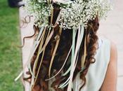 DIY: Elabora corona paniculata para niñas boda