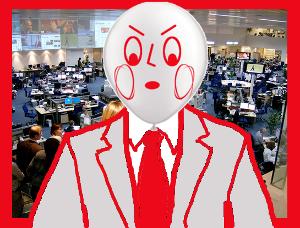 Hoy Revientín no se ha peinado para dar las noticias
