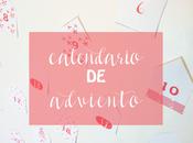 Calendario adviento imprimible