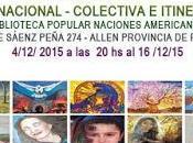 Vincenzo Dirección Exposición Biblioteca popular Naciones Americanas.-