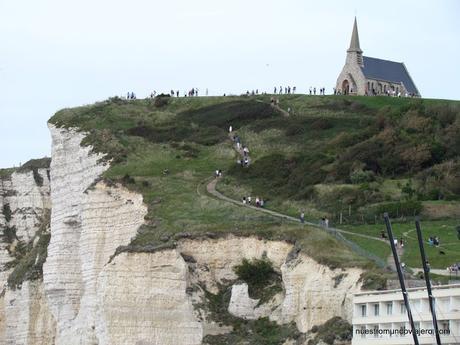 Étretat; los acantilados más famosos de Normandía