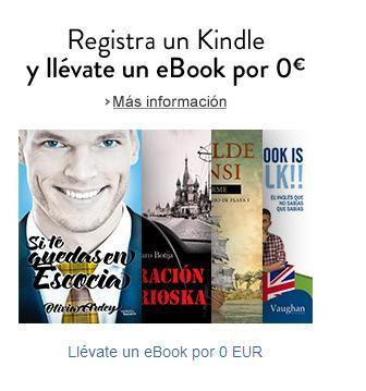 Amazon te regala SI TE QUEDAS EN ESCOCIA por registrar un Kindle