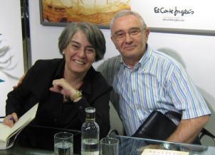 Con Matilde Asensi