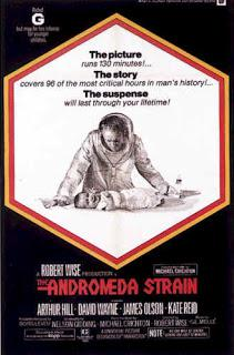 essay on andromeda strain The adromeda strain the andromeda strain the basic situation of the novel is that bacteria is brought to the earth from space by a us military space.