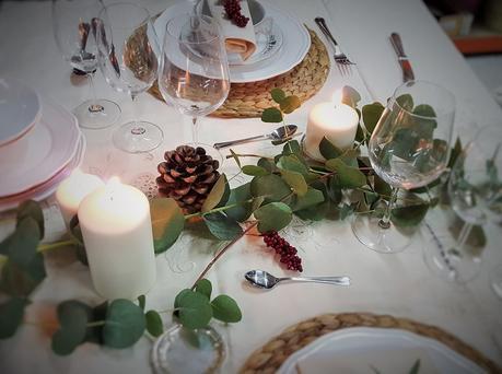 Taller de mesas navide as en el sabor de lo antiguo - El taller de lo antiguo ...