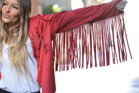 RED FRINGES