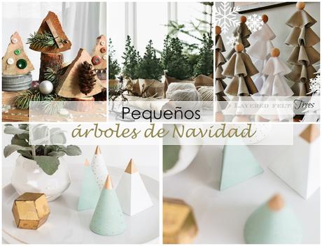 Peque os rboles de navidad paperblog - Arbol navidad pequeno ...