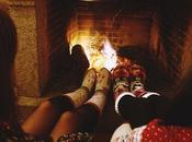 Navidad junto chimenea (OOTD)