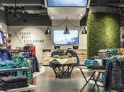 """flagship store North Face Londres, """"parque infantil"""" para exploradores"""