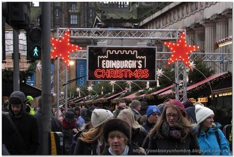 Mercado navideño, más tarde