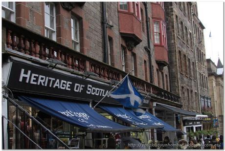 también hay tiendas escocesas