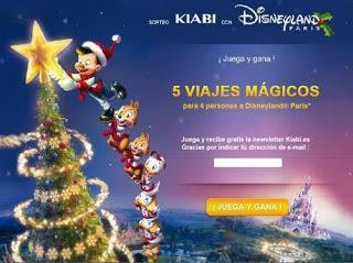 Sorteo: Viaje a Disneyland París con juego de parejas