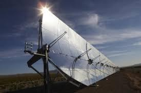 Nubarrones en la energía del sol