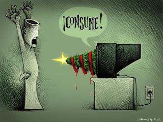Consumismo navideño (por Arantxa)