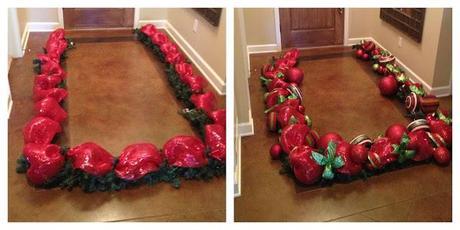 cmo decorar en navidad con guirnaldas de mallas