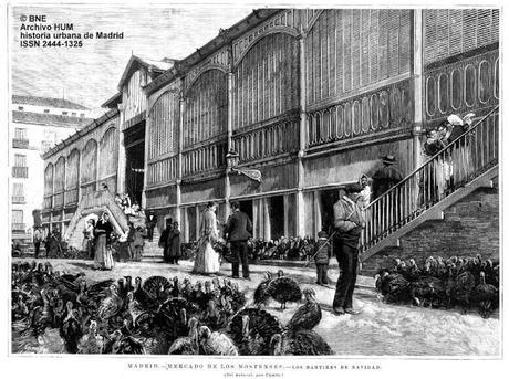 Navidad en el mercado de los mostenses madrid siglos xix - Mercado de navidad en madrid ...