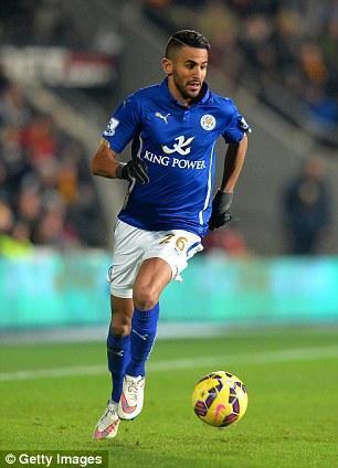 Riyad Mahrez, un Messi en Leicester City
