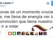 Mensaje triunfal Leopoldo López