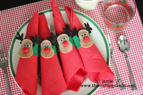 Miércoles de inspiración ♥ Rudolph y sus ocho compis renos