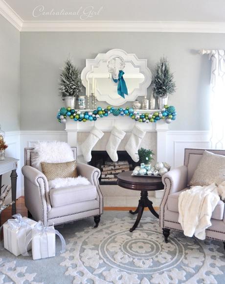 Salón decorado para navidad   paperblog