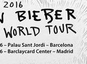 Justin Bieber actuará Madrid Barcelona noviembre 2016