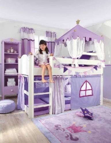 Dormitorio infantil de princesas paperblog for Cuartos de princesas