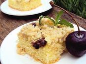 Crumble cake kiwi cereza