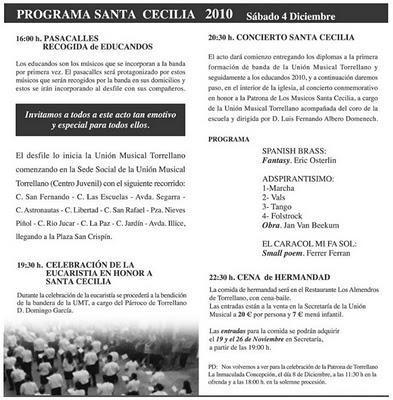 Torrellano (Elche). Fiestas Patronales de la Purísima 2010
