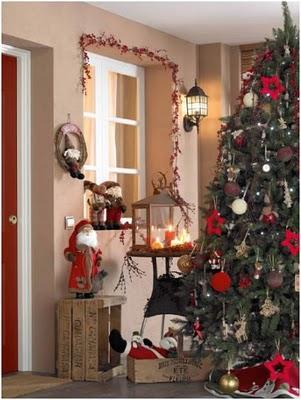 decorar en navidad familiar