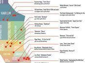 Rock'n Roll mapa Manhattan