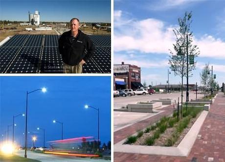 De una Ciudad fantasma a una ciudad verde: Renacimiento de Greensburg, Kansas