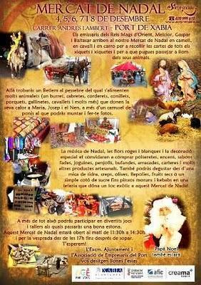 Jávea. Mercado de Navidad 2010