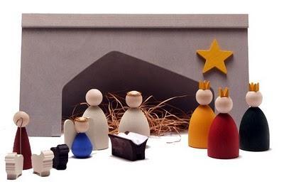 belen de navidad minimalista