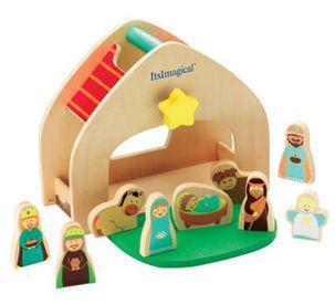 Portal de Belen mini para decorar en Navidad