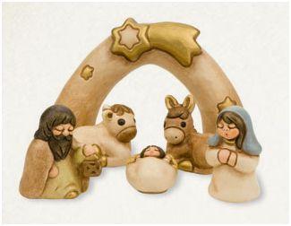 mini belenes para decorar en navidad