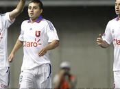 Nuevo uniforme blanco Universidad Chile 2011
