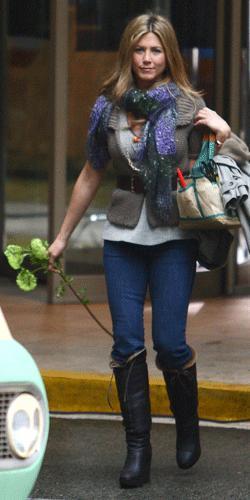 Los 10 outfits de Jennifer Aniston