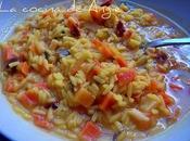 Sopa juliana arroz