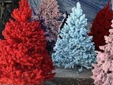 Árbol Navidad artificial color