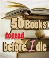 Cincuenta libros que leer antes de morir.