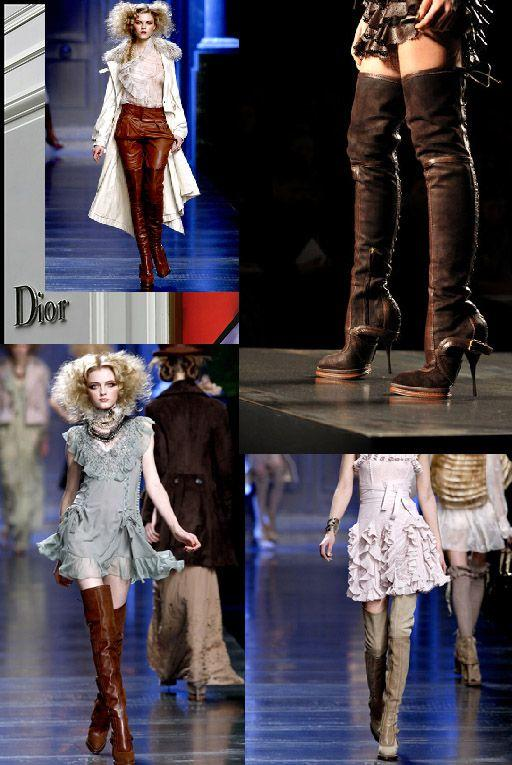OVER THE KNEE BOOTS ARE STILL IN.