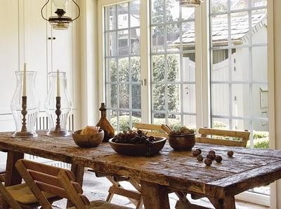 Con unos tablones de madera paperblog - Mesas de tablones de madera ...