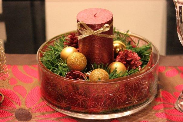 El centro de mesa navide o de javier paperblog - Centro de mesa navideno ...