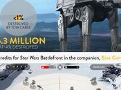 DICE revela estadísticas Star Wars Battlefront