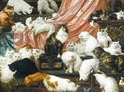 """gatos: cuadro """"Los amantes esposa"""""""