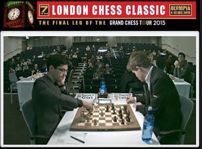 "Magnus Carlsen en el ""7th London Chess Classic 2015"" (VI)"
