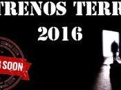 Estrenos terror para 2016