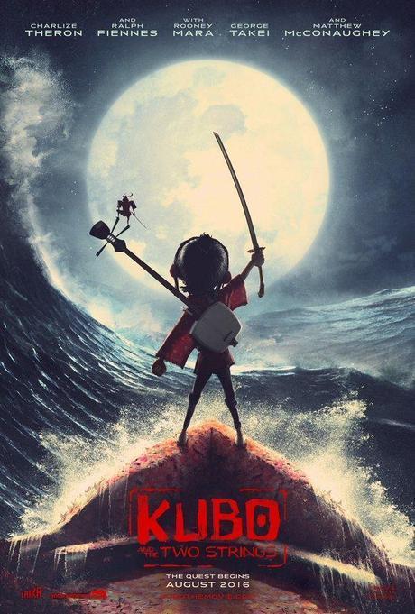 kubo laika póster animación